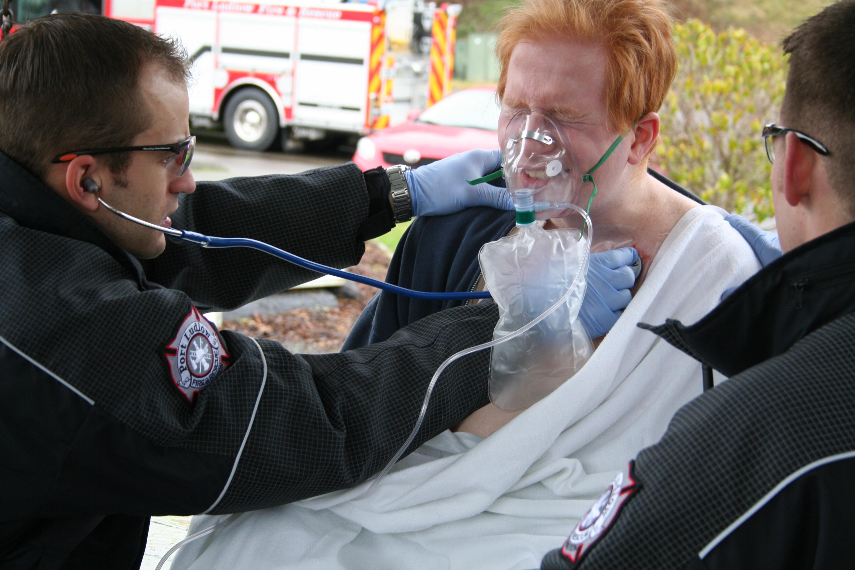 Emergency Medical Responder course
